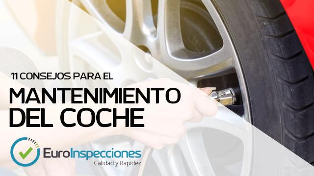 Consejos para el mantenimiento de tu coche